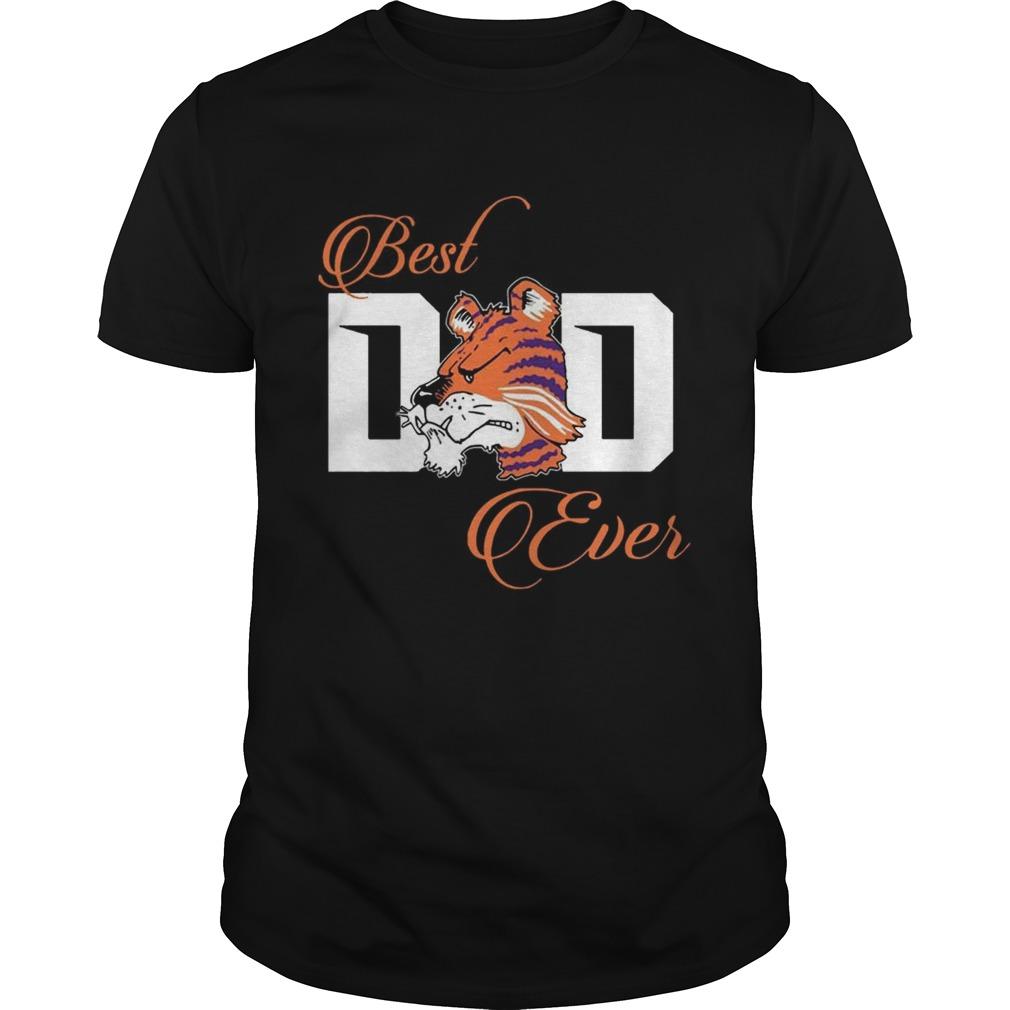 Best Clemson Tigers Dad Ever Football Unisex