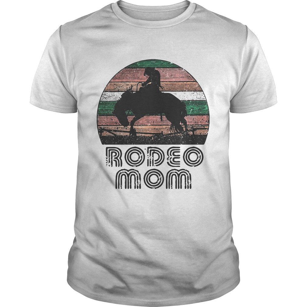 Horse Rodeo Mom Vintage Unisex