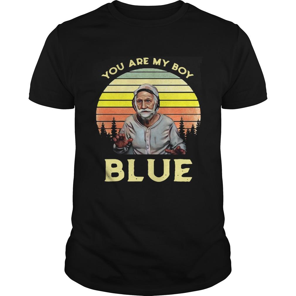 Joseph Blue Pulaski You Are My Boy Blue Old School Retro Unisex