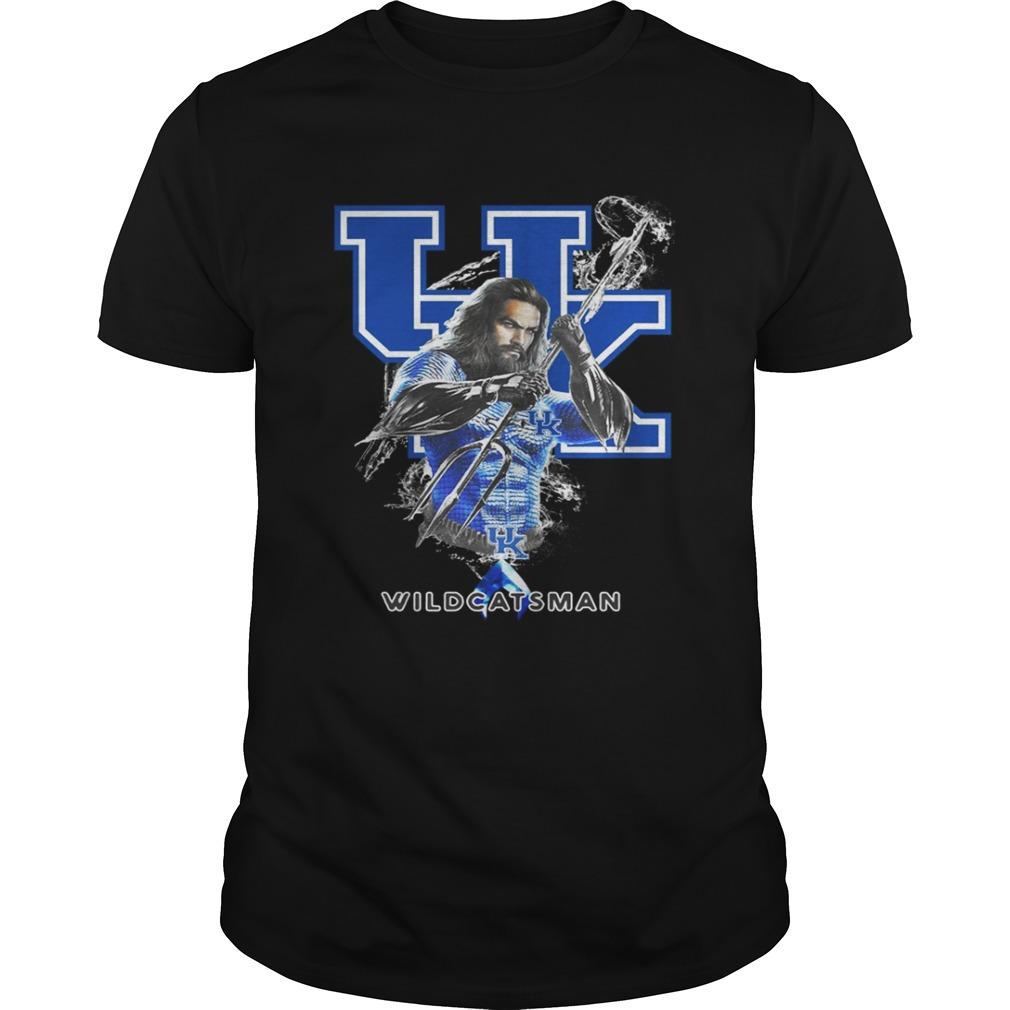 Kentucky Wildcats Aquaman Wildcatsman Classic Ladies Tee