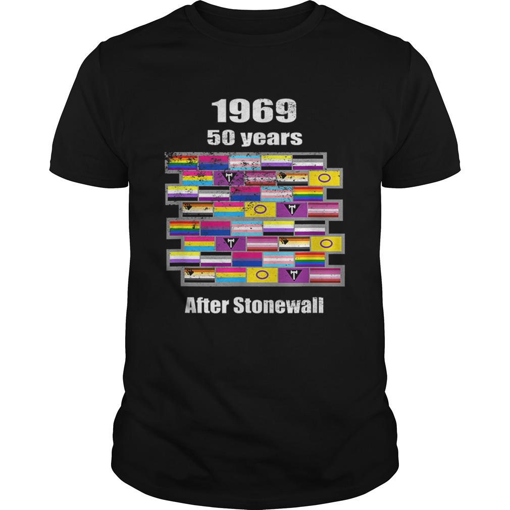 Lgbtq 1969 50 Years After Stonewall Vintage Style Unisex