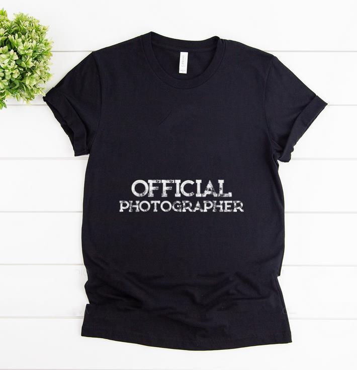Official Official Photographer Shirt