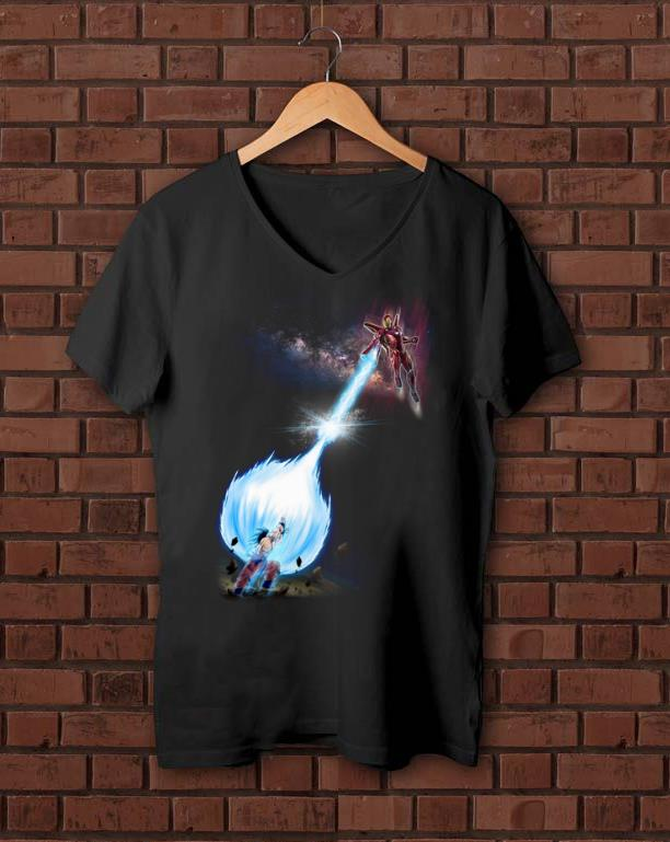 Pretty Iron Man Son Goku Kamehameha Shirt