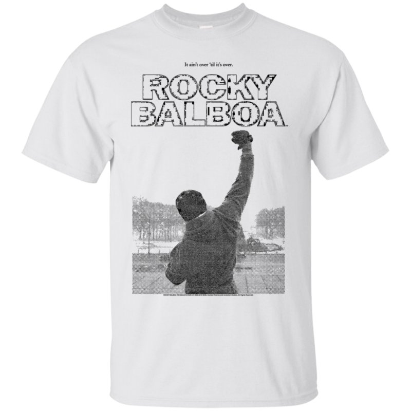 Quotit Aint Over Til Its Overquot Rocky Tshirt Classic Look