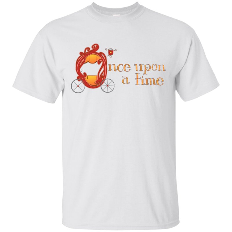 Quotonce Upon A Timequot Tshirt For Fairytale Lovers